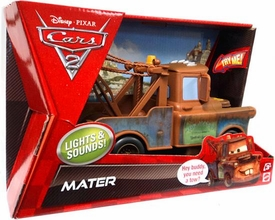 Disney / Pixar CARS 2 Movie Lights & Sounds 1:24 Scale Vehicle Mater