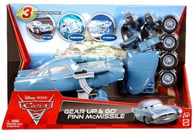 Disney / Pixar CARS 2 Movie Gear Up & Go Finn McMissile