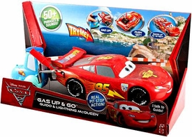 Disney / Pixar CARS 2 Gas Up & Go Guido & Lightning McQueen