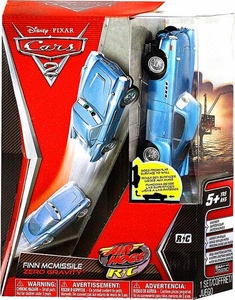 Disney / Pixar CARS 2 Movie Air Hogs R/C Zero Gravity Finn McMissile
