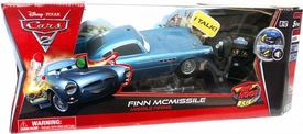 Disney / Pixar CARS 2 Movie Air Hogs R/C 1:16 Scale Finn McMissile [Missile Firing]