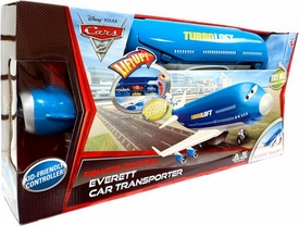 Disney / Pixar CARS 2 Movie Remote Control R/C Everett Car Transporter [Kid Friendly Controller]
