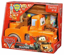 Disney / Pixar CARS 2 Movie Push Toy Bubble Mater