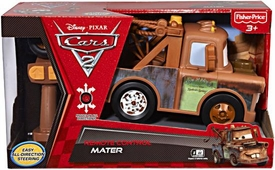 Disney / Pixar CARS 2 Movie Remote Control R/C 8 Inch EZ Driver Mater [Easy All-Direction Steering]