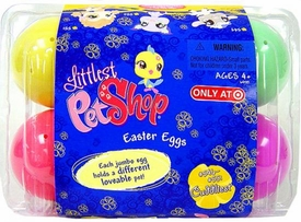 Littlest Pet Shop Exclusive 2008 Easter Eggs 6-Pack of Figures