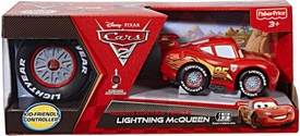 Disney / Pixar CARS 2 Movie Remote Control R/C 5 Inch Mini Rides Lightning McQueen [Kid-Friendly Controller]