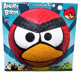 Angry Birds 8.5 Inch Rubber Playground Ball Red Bird