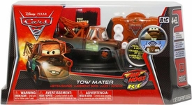 Disney / Pixar CARS 2 Movie Air Hogs R/C 1:43 Scale Lights & Sounds Tow Mater
