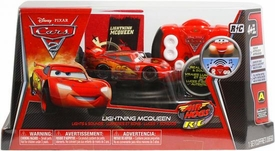 Disney / Pixar CARS 2 Movie Air Hogs R/C 1:43 Scale Lights & Sounds Lightning McQueen