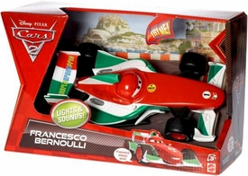 Disney / Pixar CARS 2 Movie Lights & Sounds 1:24 Scale Vehicle Francesco Bernoulli