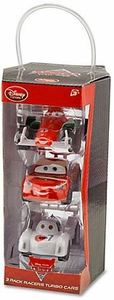 Disney / Pixar CARS 2 Movie Pull Back 3-Pack Racers Turbo Cars