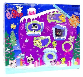 Littlest Pet Shop Exclusive 2008 Advent Calendar with 3 Pets [Polar Bear, Puppy & Penguin]
