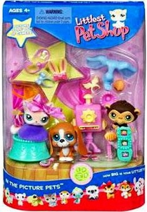 Littlest Pet Shop Playset In the Picture Pets [Inlcudes Chimpanzee!]