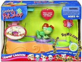 Littlest Pet Shop Figures Playset Leapin' Lagoon