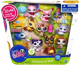 Littlest Pet Shop Collectors 10-Pack [Includes 4 Premium Pets!]