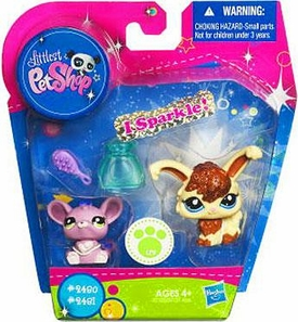 Littlest Pet Shop Exclusive Figure 2-Pack Angora Bunny & Rat