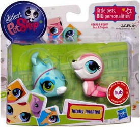 Littlest Pet Shop Totally Talented Pets Seal & Dolphin