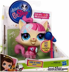 Littlest Pet Shop Sing-A-Song Singing Figure Cat