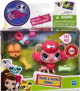Littlest Pet Shop Tricks & Talents Figure Poodle