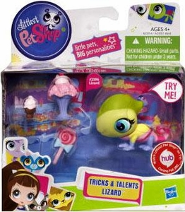 Littlest Pet Shop Tricks & Talents Figure Lizard