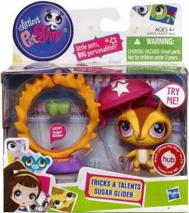 Littlest Pet Shop Tricks & Talents Figure Sugar Glider