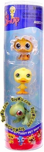Littlest Pet Shop Spring 3-Pack Kitten, Ducky & Iguana