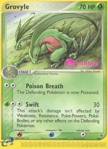 Pokemon Card Game Old Nintendo Promos Single Card Promo #4 Grovyle
