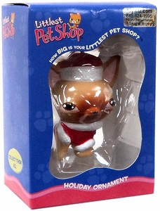 Littlest Pet Shop Holiday Ornament Chihuahua