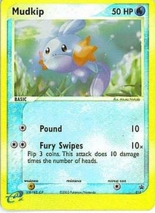 Pokemon Card Game Old Nintendo Promos Single Card Promo #10 Mudkip
