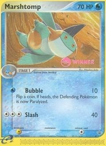 Pokemon Card Game Old Nintendo Promos Single Card Promo #11 Marshtomp