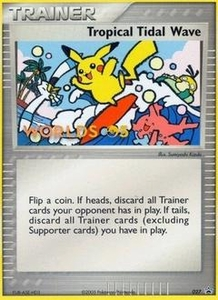 Pokemon Card Game Old Nintendo Promos Single Card Promo #27 Tropical Tidal Wave