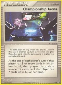 Pokemon Card Game Old Nintendo Promos Single Card Promo #28 Championship Arena