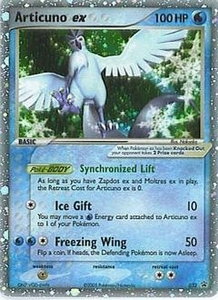 Pokemon Card Game Old Nintendo Promos Single Card Promo #32 Articuno ex