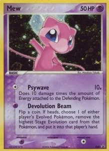 Pokemon Card Game Old Nintendo Promos Single Card Promo #40 Mew