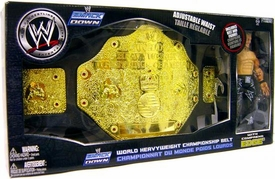 WWE Wrestling Exclusive World Heavyweight Championship Belt with Edge Action Figure