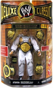 WWE Wrestling Classic Deluxe Exclusive Action Figure Shawn Michaels [Wrestlemania 12 Entrance Gear] Awesome Piece! Includes 5 Championship Die Cast Belts!