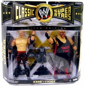 WWE Wrestling Classic Superstars Exclusive Action Figure 2-Pack Kane & Vader with Mantle