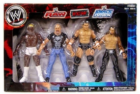 WWE Wrestling Exclusive RAW, ECW & Smackdown Superstars 4-Pack [Shelton Benjamin, Stone Cold Steve Austin, Randy Orton & Edge]
