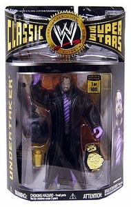 WWE Wrestling Classic Superstars Exclusive Limited Edition Action Figure Glow-in-the-Dark Undertaker [1 of 100] Only 100 Made!