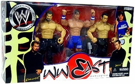 WWE Wrestling Limited Exclusive Far East Action Figure 3-Pack Funaki, Akio & Sakoda