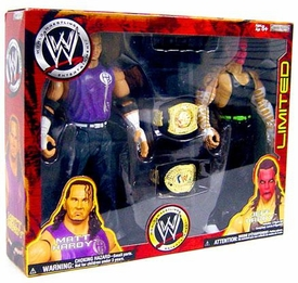 WWE Wrestling Exclusive Action Figure 2-Pack Matt Hardy & Jeff Hardy [Red Face Paint!]