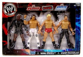 WWE Wrestling Exclusive RAW, ECW & Smackdown Superstars 4-Pack [MVP, John Morrison, Ric Flair & Chris Jericho]