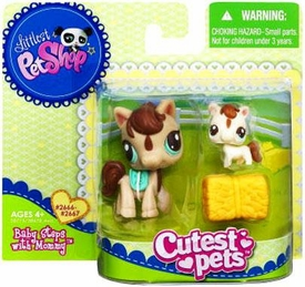 Littlest Pet Shop Cutest Pets Mommy & Baby Figures Horses
