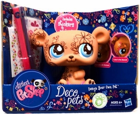 Littlest Pet Shop Deco Pets Brown Bear