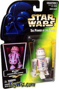 Star Wars POTF2 Power of the Force Color Photo Card R5-D4 with  Concealed Missile Launcher