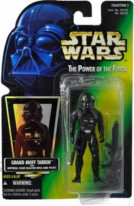 Star Wars POTF2 Power of the Force Hologram Card TIE Fighter Pilot w/ Imperial Blaster Pistol & Rifle