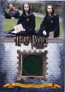 Harry Potter and the Half-Blood Prince Authentic Costume Card C12 Slytherin Student's Robe 199/570