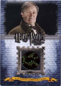 Harry Potter & The Half-Blood Prince Authentic Costume Card C2 Horace Slughorn's Bowtie 129/240