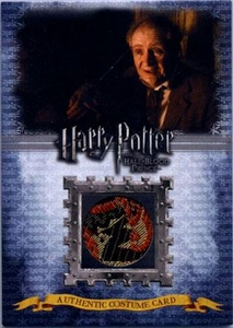 Harry Potter and the Half-Blood Prince Authentic Costume Card C6 Horace Slughorn 395/580