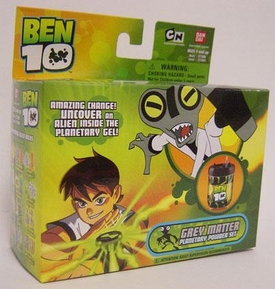 Ben 10 (Ten) Planetary Powder Set Gray Matter